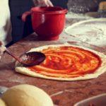 ciasto na pizze z mąki razowej